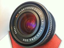 Experto en cámara/lente Carl Zeiss FLEKTOGON 2.4/35mm Lente Gran Angular M42 Digital SL