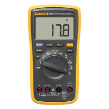 Fluke 17b Digital Multimeter F17b Ac Dc Voltage Ac Transducer Measuring