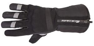 Spada Prestige Tech Waterproof Leather/Textile Gloves Black