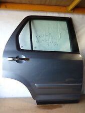 HONDA CRV CR-V 02-06  OFFSIDE REAR DRIVER OSR DOOR COSMIC GREY NH674P NH674