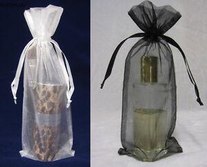 Organza Bags LONG 10x24cm (50/100/200pcs) for Perfumes, Hand Cream, Long Items