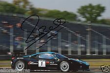 "Michael Bartels FIA GT1 World Championship Hand Signed Photo Ferrari 12x8"" B"