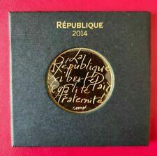 La République 500 euros or 2014 SEMPE MDP - 99,9% 9 grammes 29 mm BU - EU721 FDC