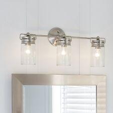 Vanity Light Fixture Bathroom 3 Lighted Wall Mount Bar Mounted Hang