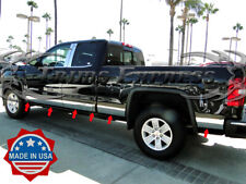 2014-2018 GMC Sierra Crew Cab 6.8' Short Bed Chrome Rocker Panel Trim-5.5""