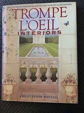 Hardcover book TROMPE L'OEIL INTERIORS How to create murals instructions