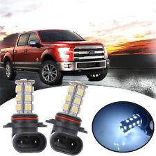 For 2013-2016 Ford Fusion 2X H10 9005 5050 LED Car Fog Light Lamp Bulbs Kit