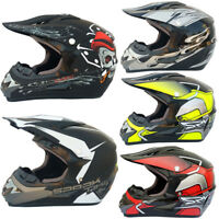 Motorcycle Helmet Mountain Bike Full Face Helmet Off-road Helmet For Men/Women