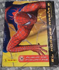 SPIDER MAN 2 ALBUM  100  stickers glueded  FROM ARGENTINA