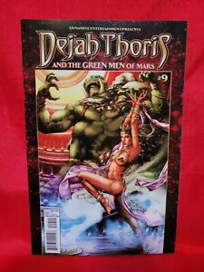 Dejah Thoris & Green Men of Mars #9- 2013, Jay Anacleto CVR A, Dynamite, VF!
