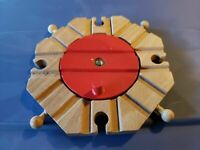 Thomas The Train Engine Wooden Railway 8 Track Turntable