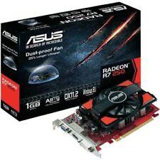 Schede video e grafiche ASUS AMD Radeon R7 250 per prodotti informatici GDDR 5