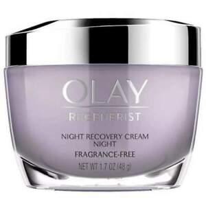 Olay Regenerist Fragrance-Free Night Recovery Cream Moisturizer - 1.7oz