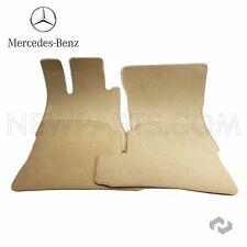 For Mercedes W221 S-Class Velour Cashmere Biege Floor Carpet Mats OES 66294236