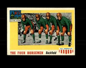 1955 Topps All American Football #68 The Four Horsemen Notre Dame AG057