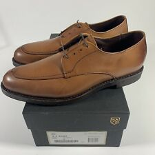 Allen Edmonds MSP Oxfords Split Toe Blucher Men's Dress Size 10 D Walnut $325