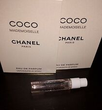 Chanel Coco Mademoiselle EDP Perfume Spray Sample Vial X 2 for Women 2 ml .06 oz