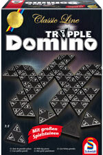 Schmidt Spiele Familienspiel Zuordnungsspiel Tripple Domino 49287