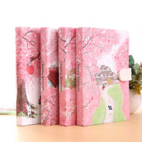 """Sakura Cat ver.2"" 1pc Journal Diary Cute Lined Planner Hard Cover Notebook Memo"