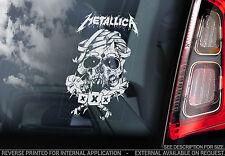 Metallica - Car Window Sticker - Heavy Metal Rock Music Album Cover XXX - TYP3