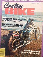 Custom Bike Magazine Warner Riley January 1978 122817nonrh