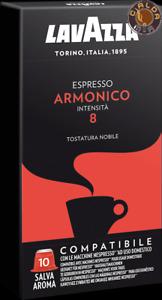 Lavazza 100 capsule Espresso Armonico compatibili Nespresso