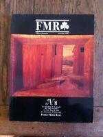 Rivista Fmr N8 1987 Franco Maria Ricci