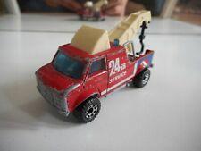 Matchbox Breakdown Van in Red
