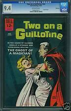 CGC (DELL) MOVIE, TWO ON A GUILOTINE NM+ 9.6 1965 #NN 0008
