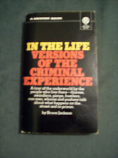 IN THE LIFE VERSIONS OF THE CRIMINAL EXPERIENCE 1974 now on sale