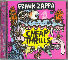 FRANK ZAPPA - CHEAP THRILLS - RYKO CD - 1998