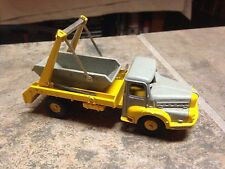 FRENCH DINKY 38a  CAMION-UNIC MULTIBENNE BARREL/SUPER RARE,DUMP TRUCK,RARE