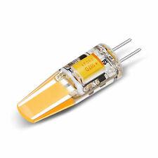 5/10-PACK 1.6W COB G4 LED Bulb, AC/DC12V, G4 Bi-pin Base, 20W Halogen Equivalent