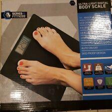 Body Bathroom Weight Scale Body Fat Digital Sense 400 Lb Range LSD Displays NIB