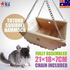 New Design Handmade Wood Cat Hanging Sleeping Bed Hammock Pet Gifts