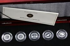 **2012** RCM, Farewell to the Penny, 5 Coin Silver Proof Set
