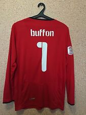 Italy NATIONAL TEAM GOALKEEPER FOOTBALL SHIRT JERSEY CAMISETA PUMA #1 BUFFON