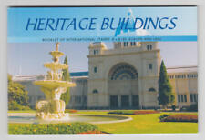 Australia #2504a Mnh Heritage Buildings Royal Exhibition booklet 2006 cv $30