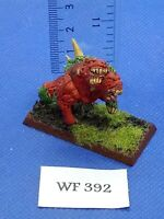 Warhammer Fantasy/40K - Chaos Warhound Painted - Metal WF392