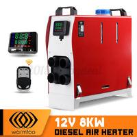 Warmtoo All In One 12V 8KW Diesel Air Heater Motorhome Trucks Boat Car