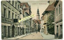 Postkarte um 1905 :  Lauban / Lubań , Brüderstrasse , Niederschlesien