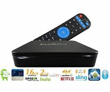 KudoTV 3 Android TV Box Kodi, 2017 Model [2GB/16GB/4K] Mini PC S905X
