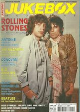 MAGAZINE - JUKEBOX : THE ROLLING STONES, BEATLES, BEE GEES, DONOVAN MANFRED MANN