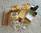 Epoch Calico Critters Sylvanian Family Furniture & accessory Lot