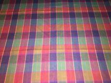 Tissu coton léger écossais  larg 150 cm x H 100 cm, réf A29