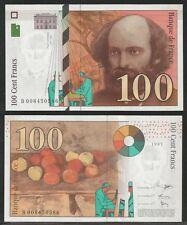 FRANCIA - 100 Francs 1997 Pick 158a  UNC