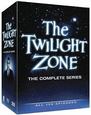 Twilight Zone: The Complete Series (DVD, 2013, 25-Disc-Set) New!