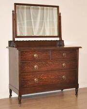 Oak Original Art Moderne Antique Dressing Tables