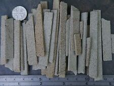 REAL MINIATURE GREY STONE OFFCUTS FOR TRAINS & MODELS