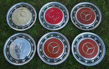 6 Stück Mercedes-Benz 14 Zoll Oldtimer Radkappen Radzierblenden Chrom